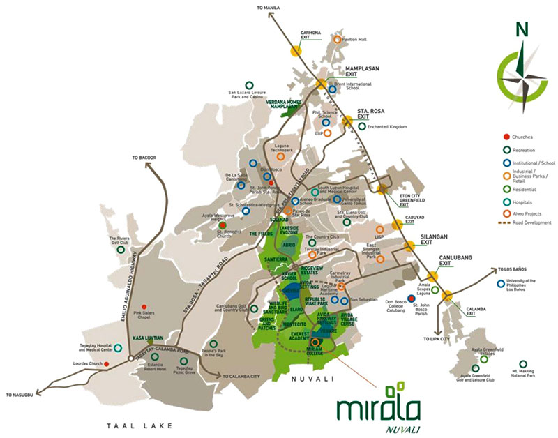 mirala-map